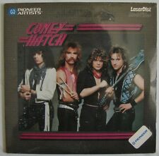 """CONEY HATCH  Canadian Rock Band  4 Music Videos  8"""" inch size  Laserdisc NEW"""