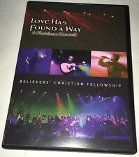 Love Has Found A Way A Christmas Concert DVD Believers Christian Fellowship Ohio
