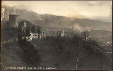 cartolina VITTORIO VENETO castello di s.martino