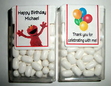 28 ELMO SESAME STREET BIRTHDAY PARTY FAVORS TIC TAC LABELS