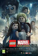 Lego Marvel Super Heroes Thor Poster (24x36) - NEW