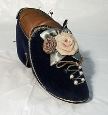 Antique Shoe Design Sewing Accessories Pin Cushion Size Large Multi color FR SHP