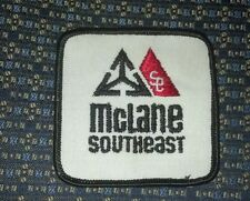 MCLANE SOUTHEAST FOOD TRUCKING COMPANY Sew-On Patch