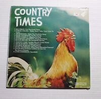 VARIOUS Country Times Vol 1 LP Dynamic House 11798 US 1978 SEALED M RARE COMP 5F