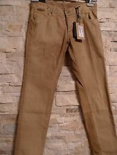 DSQUARED2 100%AUTHENTIC WAXED SLIM BOTTOM SHORT CROTCH JEANS ITALY SIZE 42 US 30