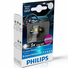 Philips XTREME VISIÓN Festoon Bombilla LED C5W 6000K 30MM (single Bombilla)