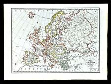 1829 Malte Brun Map - Europe - France Spain Austria Italy Germany Sweden Greece