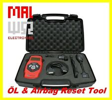 Universal Öl Service und Airbag Reset Tool, incl. BMW, Mercedes, VAG Adapter