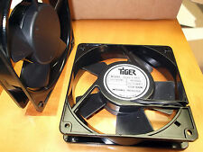 Fan 110 Volts ac 120 mm Fans Cooling Tiger 119 x119x25.4mm Sleeve Terminal 1pc