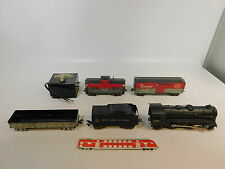 AS304-4# LOUIS MARX CO  Spur 0 Modellbahn US/USA Dampflok 999+ Wagen NYC+B&O