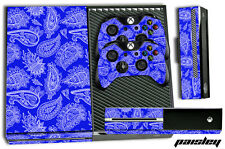 XBOX ONE 1 Skin Game Console Decal Plus Controller Stickers Bandana Crip PAISLEY