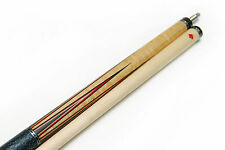 New AB-2 DELTA Ebony Billiard Pool Cue Stick AB2 Custom Inlay Bird's Eye Maple