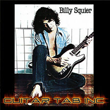 Billy Squier Guitar Tab DON'T SAY NO Lessons on Disc