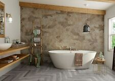 Bengal Beige Natural Stone/Slate effect Porcelain bathroom Wall Floor Tiles NEW