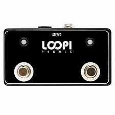 Dual Amp Channel LED w/ 9v DC Footswitch - Big Foot Version - Loopi Pedals