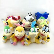 1 Set of 7 Koopalings Larry Iggy Lemmy Roy Ludwig Wendy Morton Koopa Super Mario