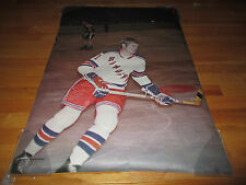 1971 VIC HADFIELD New York Rangers SPORTS ILLUSTRATED Poster CANADA CUP SUMMIT