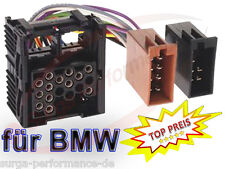 Radio Adapter BMW E30 E36 E46 E34 E39 E32 E38 E31 X5 MG ISO Kabel Stecker   Auto