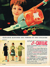 PUBLICITE ADVERTISING 014   1961   CADILLAC   aspirateur