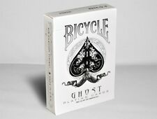 New Factory Sealed Bicycle White Ghost Deck Playing Cards by Ellusionist