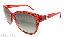 Authentic VERSACE Red Sunglasses VE 4246B - 500111  *NEW*