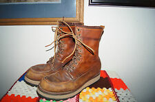Red Wing BOOTS 9 D RUBBER SOLE BOOTS 9 D RED WINGS BOOTS 9 D