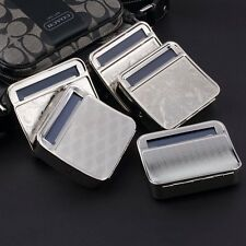 Metal Automatic Cigarette Tobacco Roller Roll Rolling Machine Box Case Tin SY