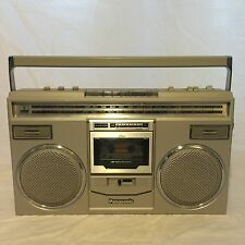 Panasonic RX-5100 Vintage Boombox  AM/FM Cassette Player / Recorder Works Great!