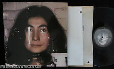 YOKO ONO, Fly [Apple] {with poster} USA 1st pressing EXCELLENT- 2LP John Lennon