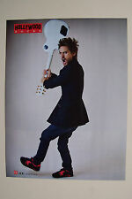 JARED LETO (30 Seconds To Mars) - 2010 Magazine Poster