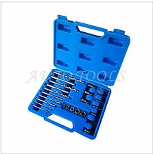 Screw Extractor Drill Guide 25pcs Set Remove Broken Screw Bolt Fastners Easy Out