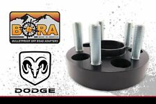 "2012-2015 Dodge Ram 1500, 2@1.75"" & 2@1"" Thick Wheel Spacers By BORA Made In USA"