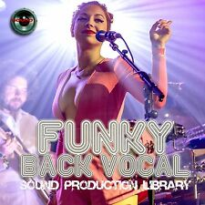 FUNKY BACK VOCAL - UNIQUE Multi-Layer Studio WAV/Kontakt Samples Library DVD