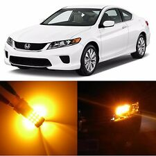 Alla Lighting Rear Signal Light Amber 7440 LED Bulb for 03~17 Honda Accord Civic