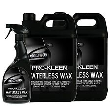 Prokleen Car Shampoo Waterless Wash and Wax 10 Litres and 750ml