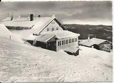 Ansichtskarte Großer Arber - Schutzhaus  mit Sessellift-Station -schwarz/weiß