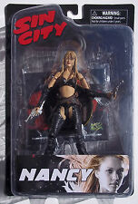 SIN CITY NANCY ACTION FIGURE. COLOR WITH ACCESSORIES. BY DIAMOND SELECT TOYS