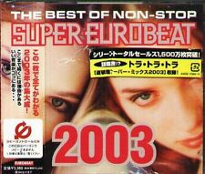 THE BEST OF NON-STOP SUPER EUROBEAT 2003 - Japan 2 CD+2 - NEW MARKO POLO MORRIS
