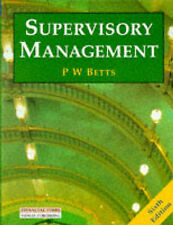 Supervisory Management by Peter W. Betts (Paperback, 1993)