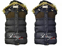 New Ladies Sleeveless Hooded Quilted Gilet Vest Bodywarmers Womens Jackets 10-18