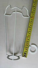 "8"" ES/UK..LAMP SHADE FRAME CARRIER ..TO SUPPORT A SHADE WITH A DUPLEX FITTING ."