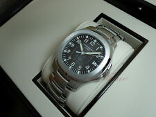 PATEK PHILIPPE 5167/1A-001 AQUANAUT STAINLESS STEEL JUMBO ON STAINLESS BRACELET