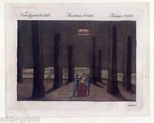 Salzbergwerk-Northwich-Cheshire-Salz -Bertuch-Kupferstich 1810 England-Steinsalz