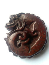 Oriental Boxwood Hand Carving  Dragon #18