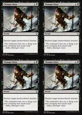 4x ULTIMATE PRICE Dragons of Tarkir MTG Black Instant Unc