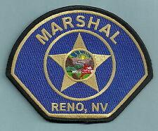 RENO MARSHAL LAS VEGAS NEVADA POLICE PATCH