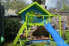 Bauanleitung Bauplan für Spielhaus Stelzenhaus Kinder Gartenhaus PDF-Versand NEU