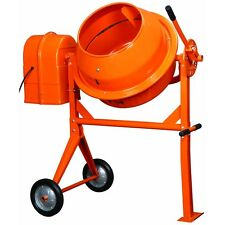 New LARGE CEMENT CONCRETE STUCCO MIXER 1/2 HP NICE L@@K