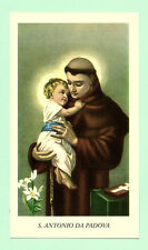 SANTINO SAN ANTONIO di PADOVA  IMAGE PIEUSE - HOLY CARD SANTINI