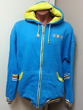 MEN'S AUTHENTIC COOGI *MERMAID* SWEATER JACKET BLUE AND YELLOW COLOR SIZE 6XL